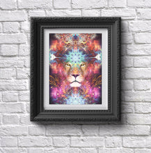 "Load image into Gallery viewer, ""Genesis"" - Lion Poster"