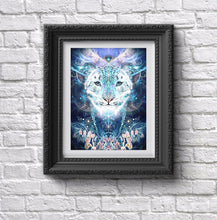 "Load image into Gallery viewer, ""Solitude"" - Snow Leopard POSTER"