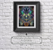 "Load image into Gallery viewer, ""Heightened Stroll"" - Marijuana Canvas"