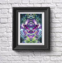 "Load image into Gallery viewer, ""Emergence"" - Butterfly Poster"