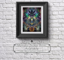 "Load image into Gallery viewer, ""Heightened Stroll"" - Marijuana Tapestry"