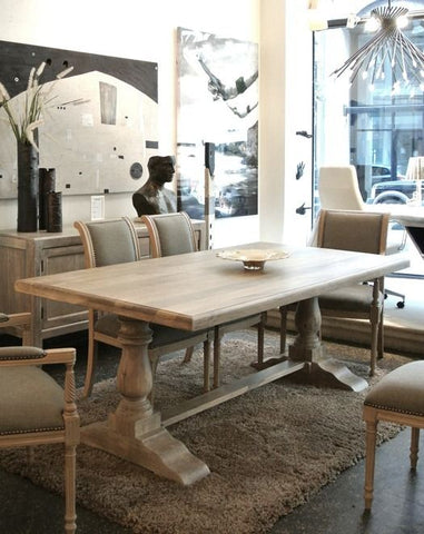 5 | Trestle Dining Table