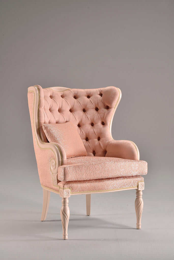 Valeria Wingback Chair - BuyerFox.com