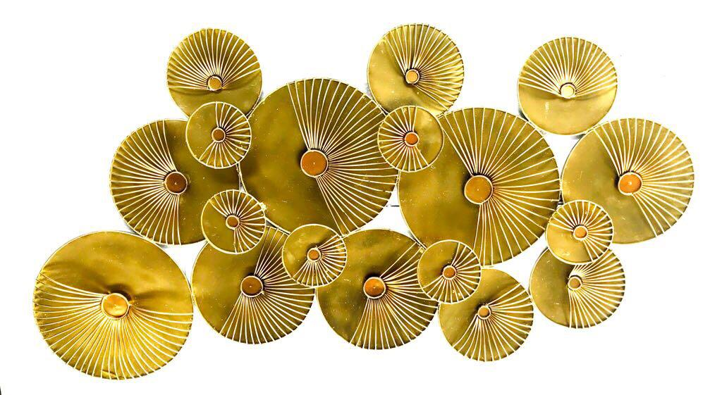 Avorio 18 PCs Disc Wall Décor - BuyerFox.com