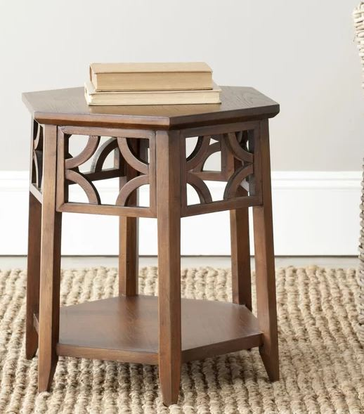 Connor Cedar Wood  End Table