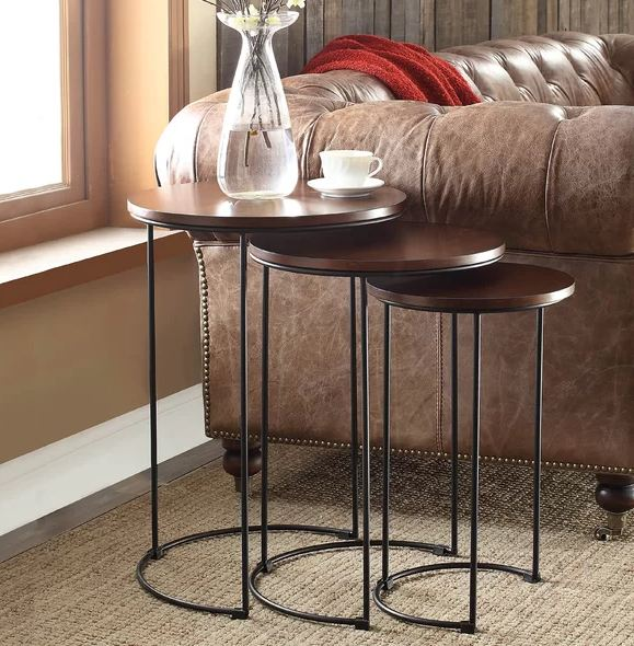 Surabaya 3 Piece Nesting Tables