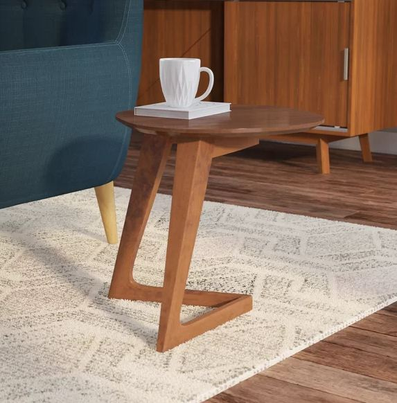 "C"" Cedar Wood End Table"