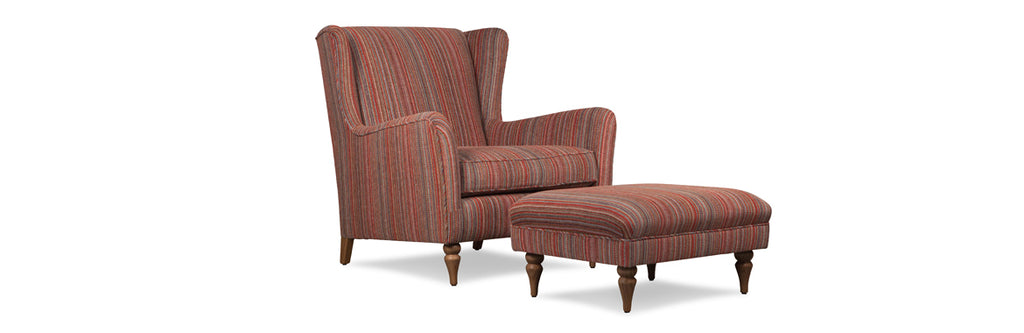 london wing chair