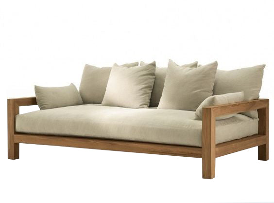 Margraine Wooden Sofa - BuyerFox.com