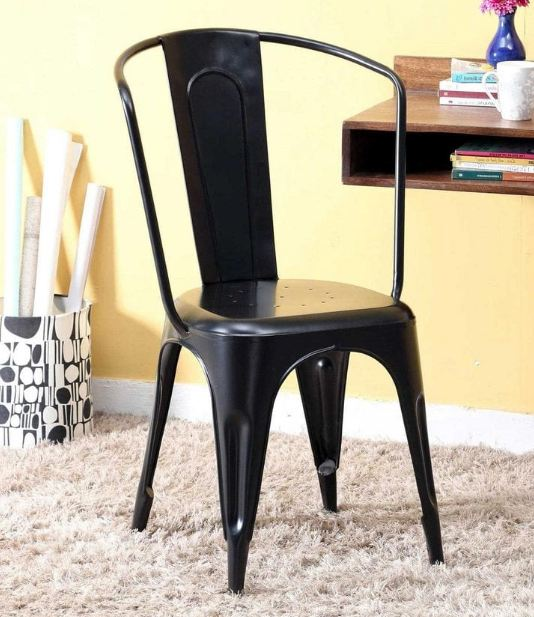 Tolex Cafe Chairs Set Of 2