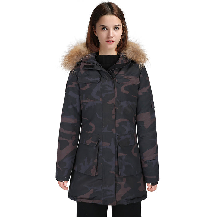 Hardland Womens Waterproof Goose Down Parka