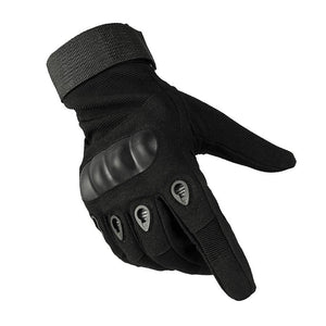 HARD LAND Tactical Gloves Motorcycle Hard Knuckle Outdoor Full Finger Gloves Fit for Military Gloves Cycling Airsoft Gloves and Work Gloves - hardlandgear