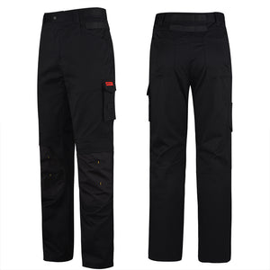 HARD LAND Men's Work Pants Ripstop Straight Fit Outdoors Cargo Pants with Knee Pads Pockets - hardlandgear