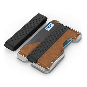 Hardland Wallet Genuine Leather RFID Blocking