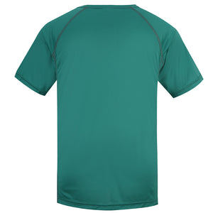 HARD LAND Mens Dry Fit Workout Shirt Polyester Athletic Sport T- Shirt Running Short Sleeve Tee - hardlandgear