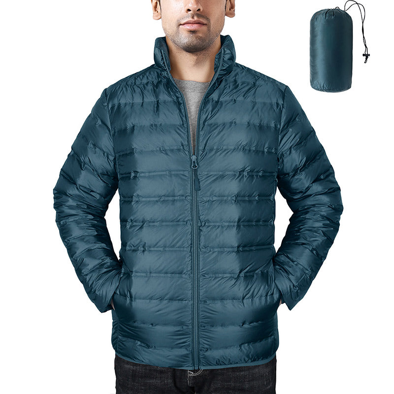 Hardland Men's Ultralight Packable Down Jacket