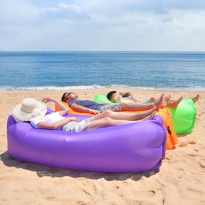 Inflatable Lounger Air Sofa Hammock-Portable