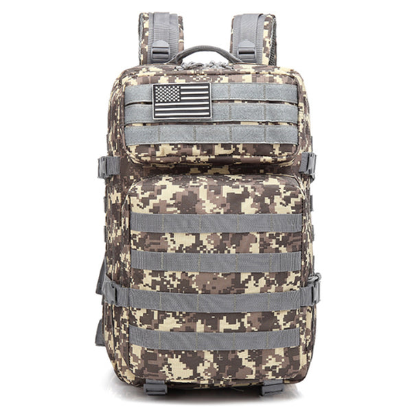 Tactical Backpack Military Backpack Molle Bag 45L