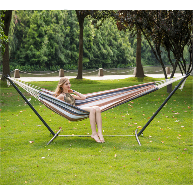 Hammocks Chair Set Double Hammock with Stand