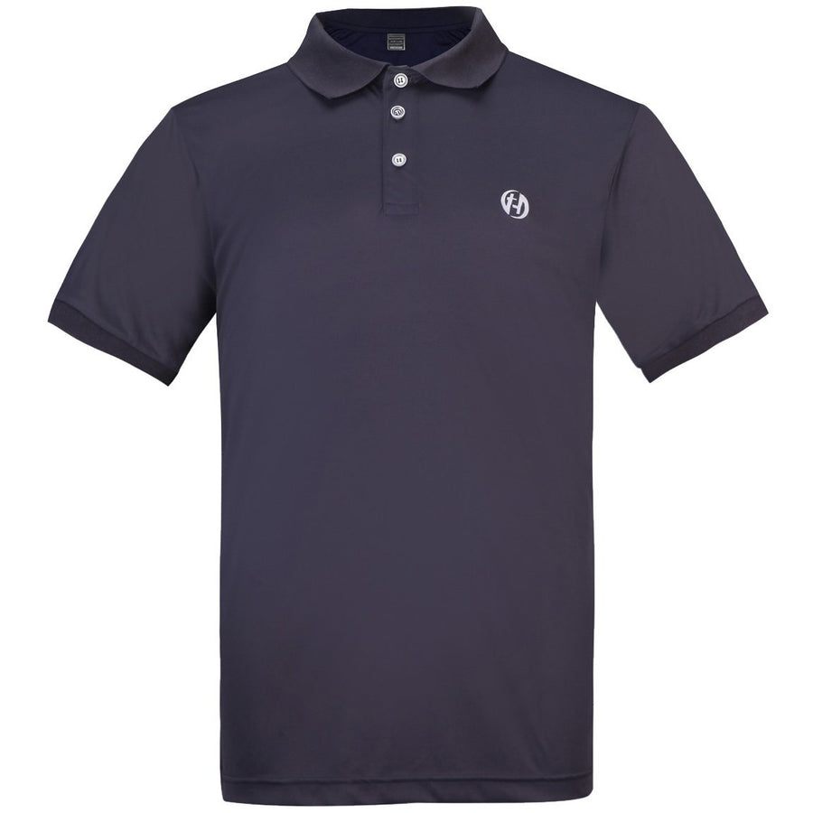 HARD LAND Men's Sport Polo Shirts Performance Cool Dry Polyester Lightweight Shirts - hardlandgear