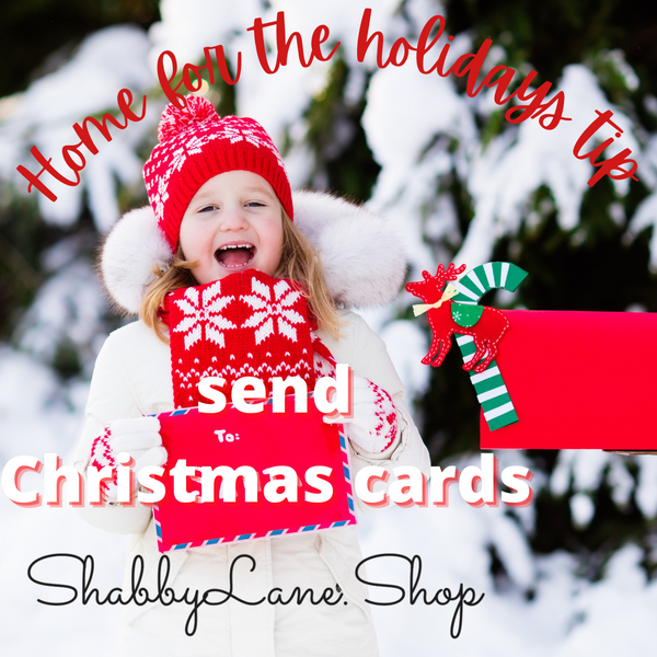 Home for the holidays - send Christmas cards