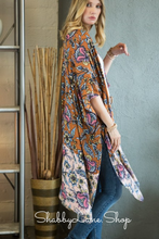 Load image into Gallery viewer, Garden Floral kimono- very flowy - Autumn Liberty
