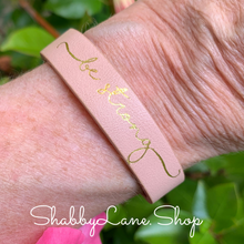 Load image into Gallery viewer, Be Strong bracelet - pink