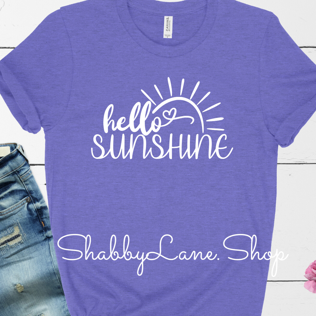 Hello Sunshine! - Heather lavender