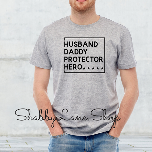 Husband Daddy Protector Hero - Gray