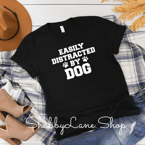 Easily distracted by dog - Black