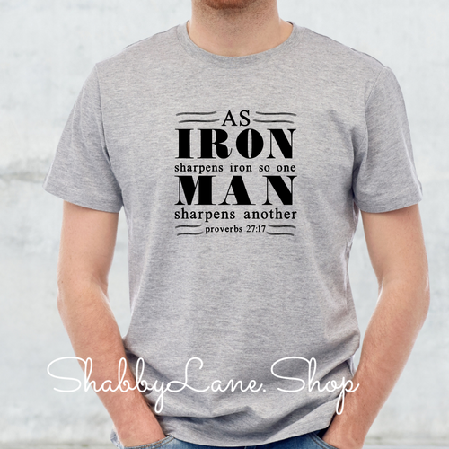 Iron Man Christian - Gray