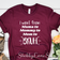 Went from mama to Bruh - Maroon t-shirt