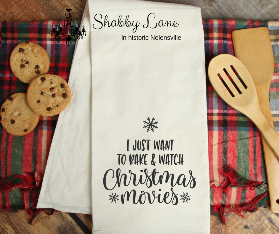 I just want to bake - kitchen towel
