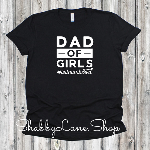 Dad of Girls -  Black