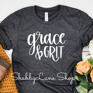 Grace and Grit t-shirt - Dk gray