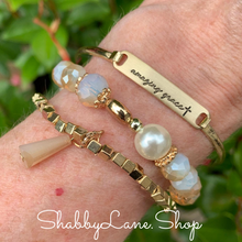 Load image into Gallery viewer, Amazing Grace bracelet trio - Gold
