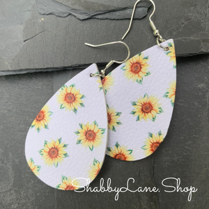 Sunflower earrings 6