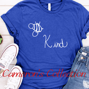 Bee Kind - Cameron Collection Royal Blue