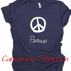 Peace - Cameron Collection Heather Navy