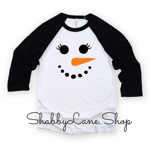 Snowman girl - toddler/kids