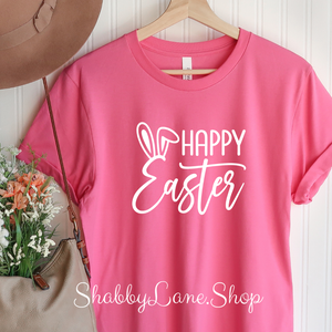 Happy Easter pink t-shirt