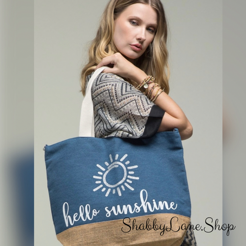 Hello Sunshine spacious tote