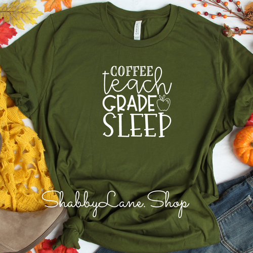 Coffee teach grade sleep! - Olive