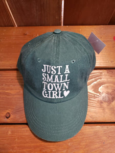 Just a small town girl hat