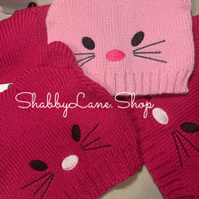 Load image into Gallery viewer, Sweet cat toddler beanie