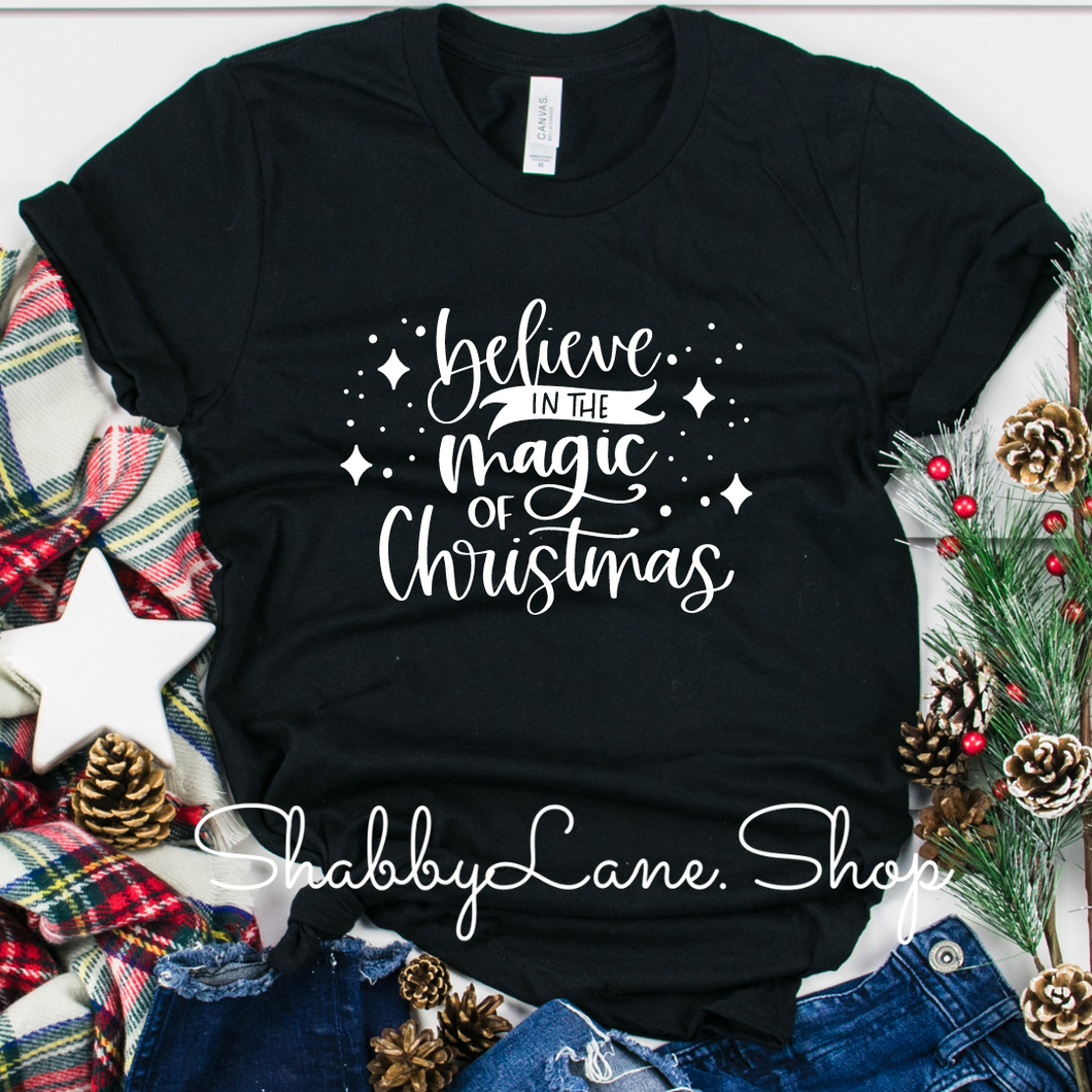 Believe in the Magic of Christmas - Black