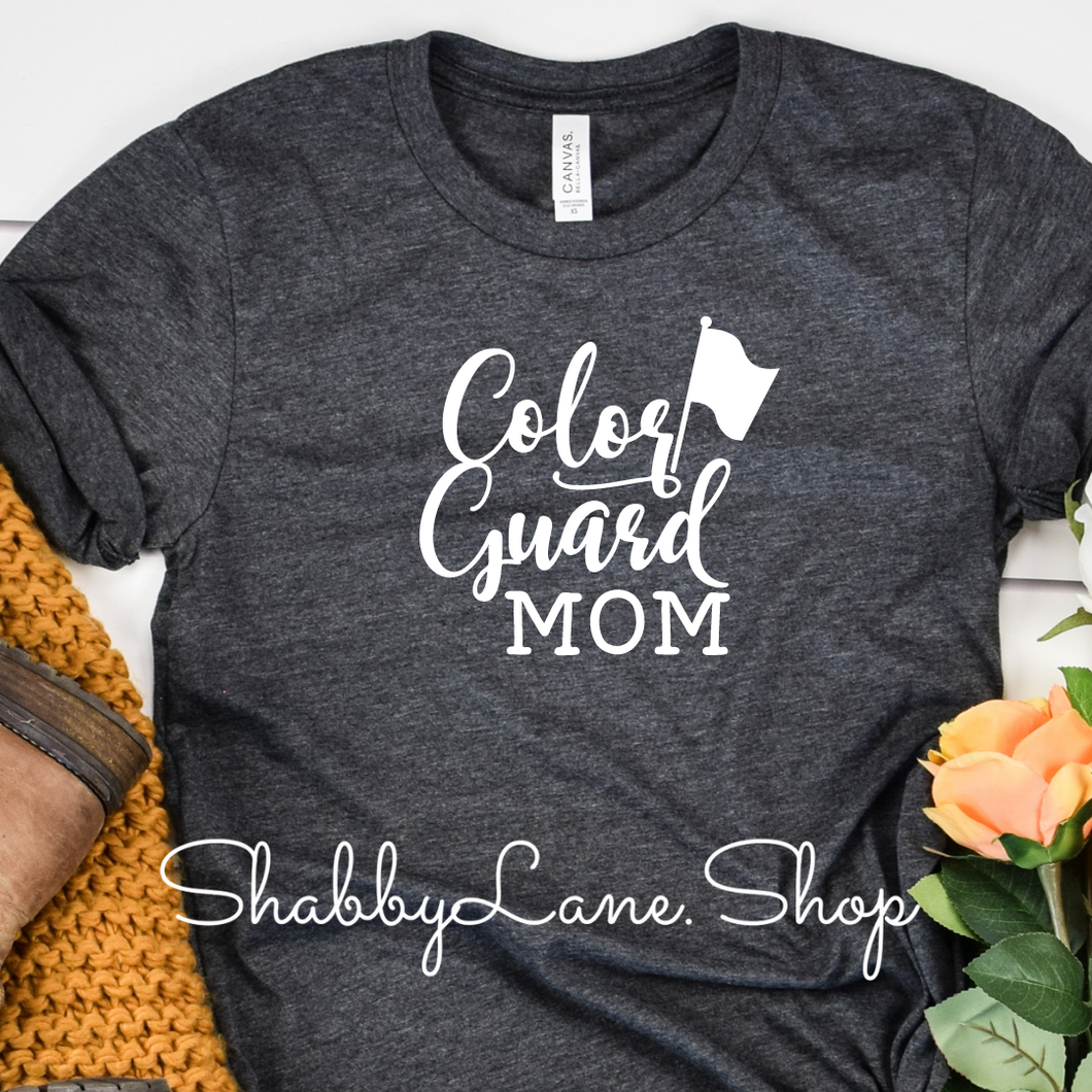 Color Guard Mom - Dark Gray