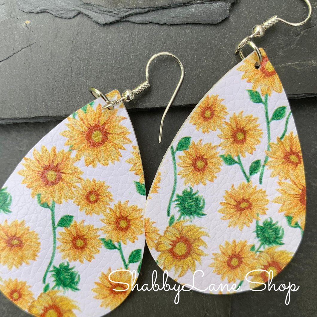Sunflower earrings 5