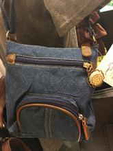 Load image into Gallery viewer, Denim cross body