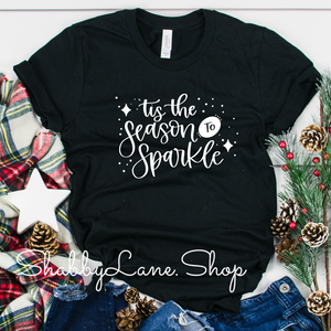 Tis the season to sparkle - Black